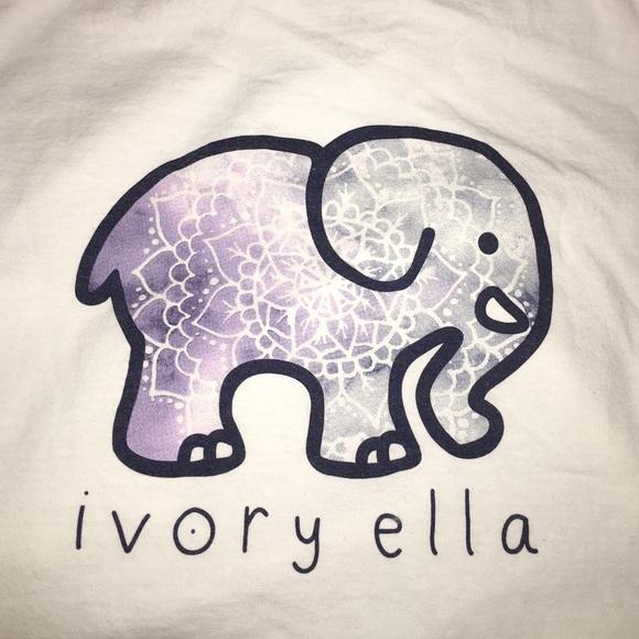 0b0bb8c76d8ae8 Ivory Ella Tops - Ivory Ella Pocketed Galaxy Print White Long Sleeve