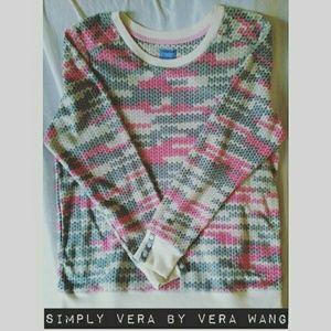 Simply Vera Vera Wang Tops - Simply Vera by Vera Wang Patterned Sweater
