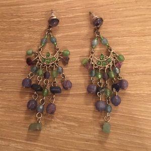 """Jewelry - """"Princess Jasmine"""" chandelier earrings."""