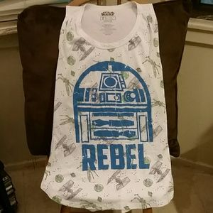 Mighty Fine Tops - Star Wars Tank Top