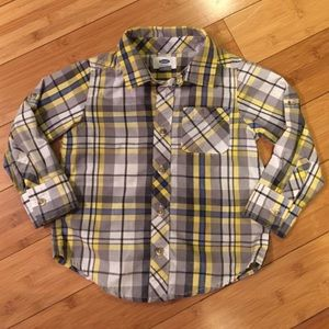 Old Navy Other - Old Navy Plaid Button-down - 3T