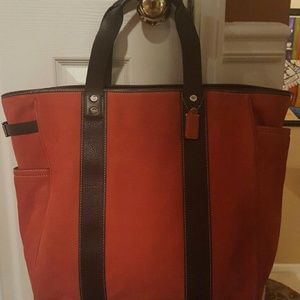 Authentic Coach Newbuck Drafting Tote
