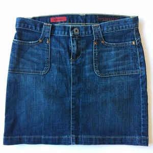 AG Adriano Goldschmied Dresses & Skirts - AG 'The Romance' Denim Jean Mini Skirt Sz 27
