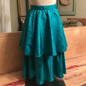 Vintage 80's real skirt