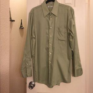 olive green dress shirt
