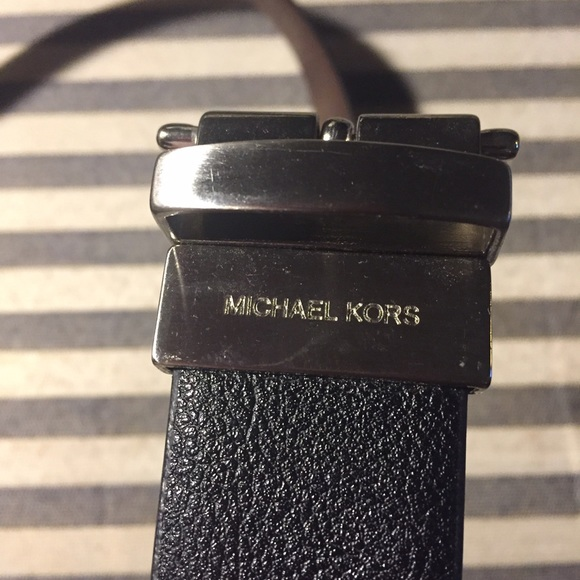 Michael Kors Other - Michael Kors Reversible Black/Brown Belt