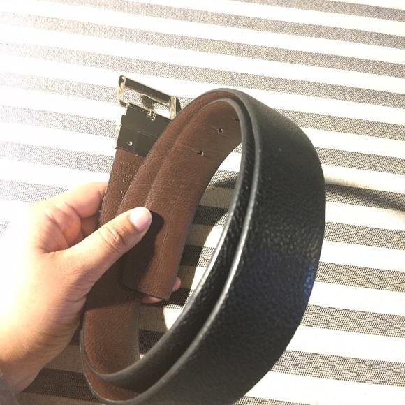 Michael Kors Accessories - Michael Kors Reversible Black/Brown Belt