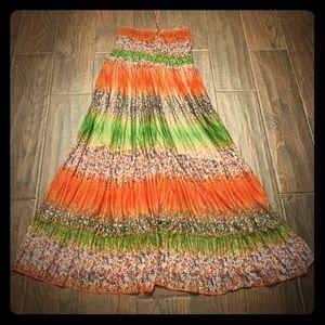 Dresses & Skirts - MAKE AN OFFER‼️Semi Sheer Halter Sun Dress Size M