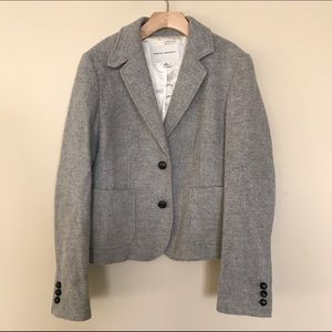 Banana Republic Jackets & Blazers - EUC Banana Republic Gray Wool Blazer 6