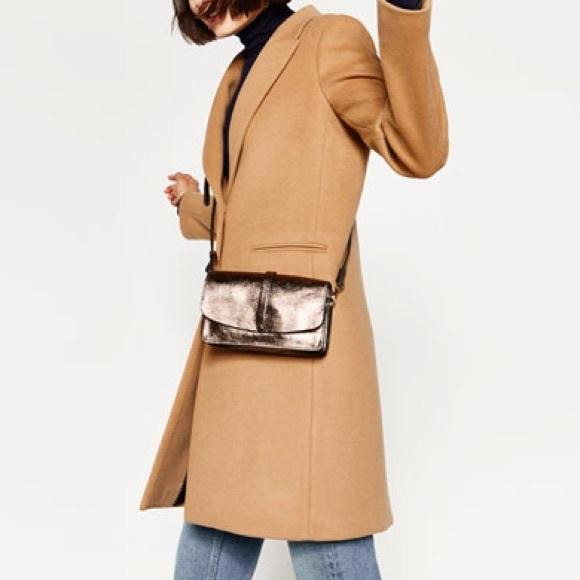 14% off Zara Handbags - ZARA 100% Leather Crossbody / Clutch Bag ...