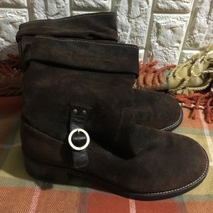 Rockport Shoes - Suede mid calf boots. nwot🎈clearance sale🎈