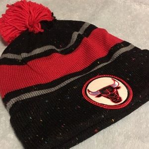 Mitchell & Ness Other - Chicago-Windy City Bulls Beanie Black Marled NWT
