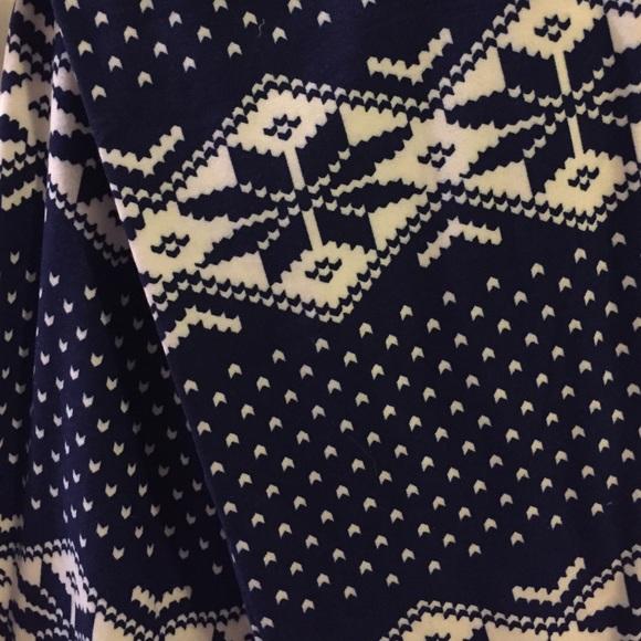 52% off Agnes & Dora Pants - BNWT Fair Isle Navy/cream leggings, S ...