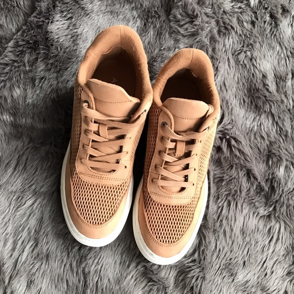 Aldo Shoes - Aldo Camel Sneakers