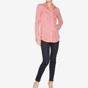 Thomas Pink Tops - Thomas Pink red gingham button down
