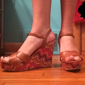 "American Eagle Outfitters Shoes - 5"" Wedges"
