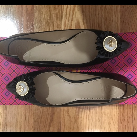 06e5df7a20df Tory Burch Melody Flat Patent Leather