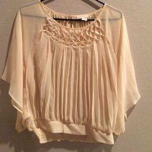 Anthropologie Pleated Top