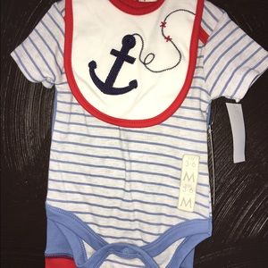 Bon Bebe Other - ADORABLE NWT Nautical Style 3-Piece Outfit