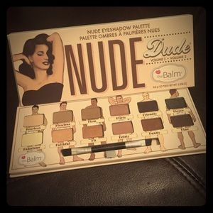 TheBalm Nude Dude vol 2 eyeshadow palette & Gifts!