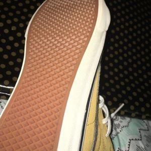d8d7a63b2c6c Vans Shoes - Slim classics Vans  mustard yellow   grey!