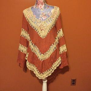 umgee Tops - Umgee crochet top size Medium