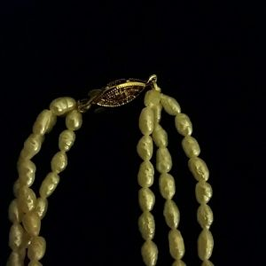 Jewelry - *Three-strand pearl necklace*