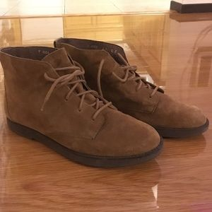 Rockport Shoes - Suede lace up booties