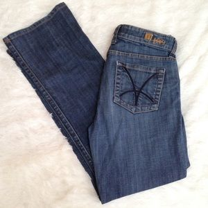 Kut from the Kloth Denim - KUT from the Kloth dark wash boot cut jeans