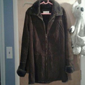 Jones New York Jackets & Blazers - Jones New York sport  suede coat