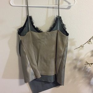 Zara Tops - Zara Strappy Lace Top