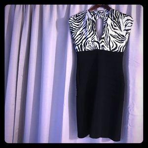 MAKE AN OFFER‼️Zebra Print Dress Size 6