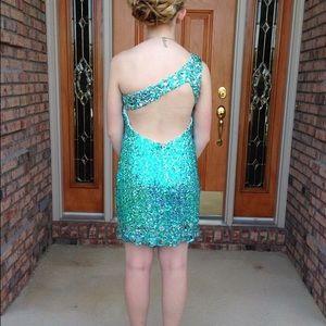 Alyce Paris Dresses & Skirts - One shoulder homecoming dress