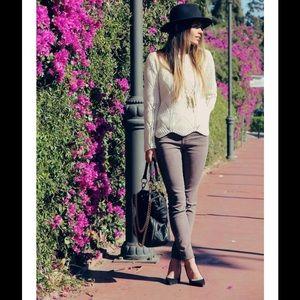 J Brand Denim - J Brand Jeans Twill Super Skinny in Pelt Purple