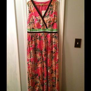 Joe Browns Dresses & Skirts - Pink Floral Maxi Dress 1X