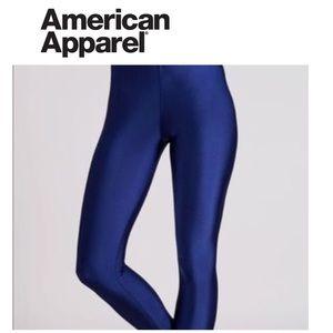 Navy American Apparel Leggings