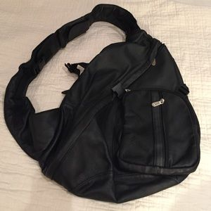 APC Handbags - APC Leather crossbody backpack