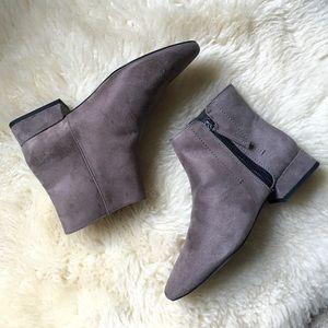 Zara bootie grey