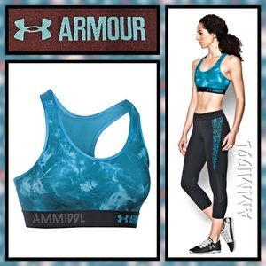 Under Armour Other - 🆕Armour® Mid - Printed Sports Bra
