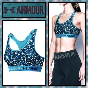 Under Armour Other - 🆕Mid - Printed Women's Sports Bra