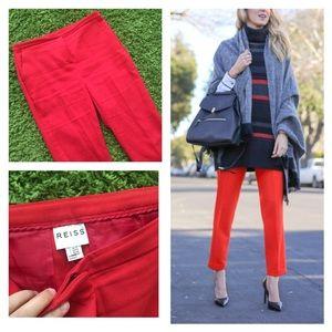 Reiss Pants - Reiss orange pants
