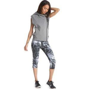 Women's Gray Nike tech fleece hooded vest. NWOT.