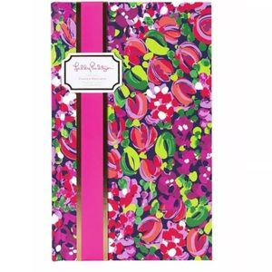 Lilly Pulitzer Journal Planner Wild Confetti New
