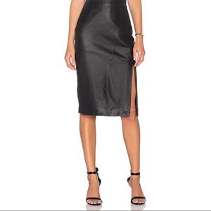 House of CB Dresses & Skirts - House of CB London Leather Skirt