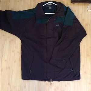 Oversized vintage windbreaker coat