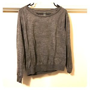 Alternative Apparel Tops - Alternative Grey Long Sleeve Shirt
