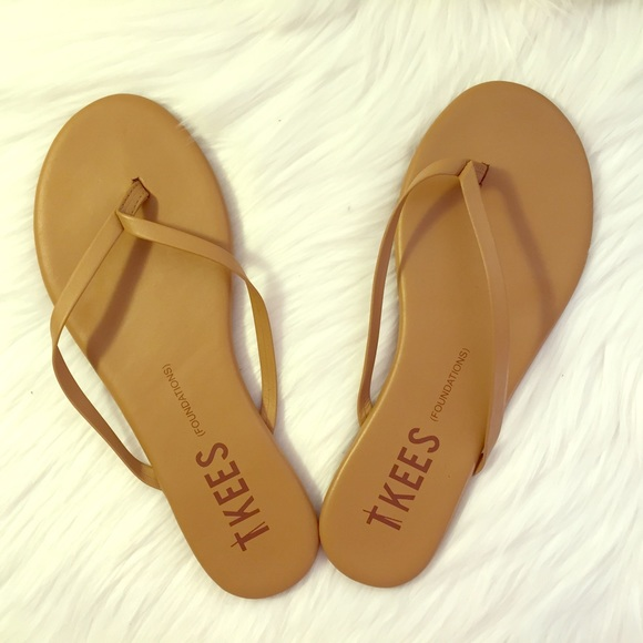 f71190244f8656 TKEES Flip flop (Foundations) Cocoabutter Size 7. M 5879dc109c6fcf7e2402ae7f