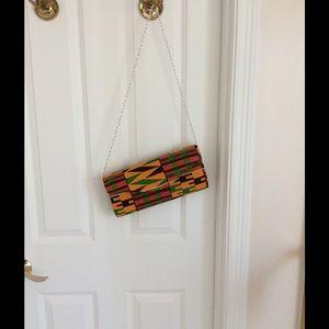 Handbags - Custom made clutch 👛 with Kenta