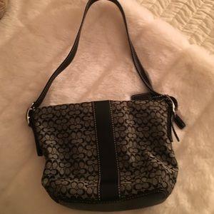 Coach Handbags - Coach mini! So cute! Rare
