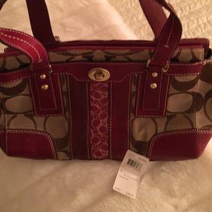 Coach Handbags - Coach red bag